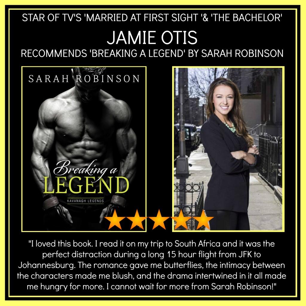 JAMIE OTIS RECOMENDS