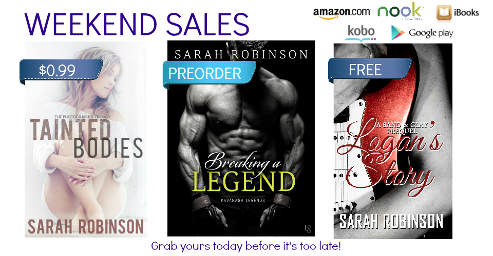Weekend Sale: Free, $0.99, and Preorder Books!
