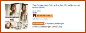 #1 romance anthology graphic