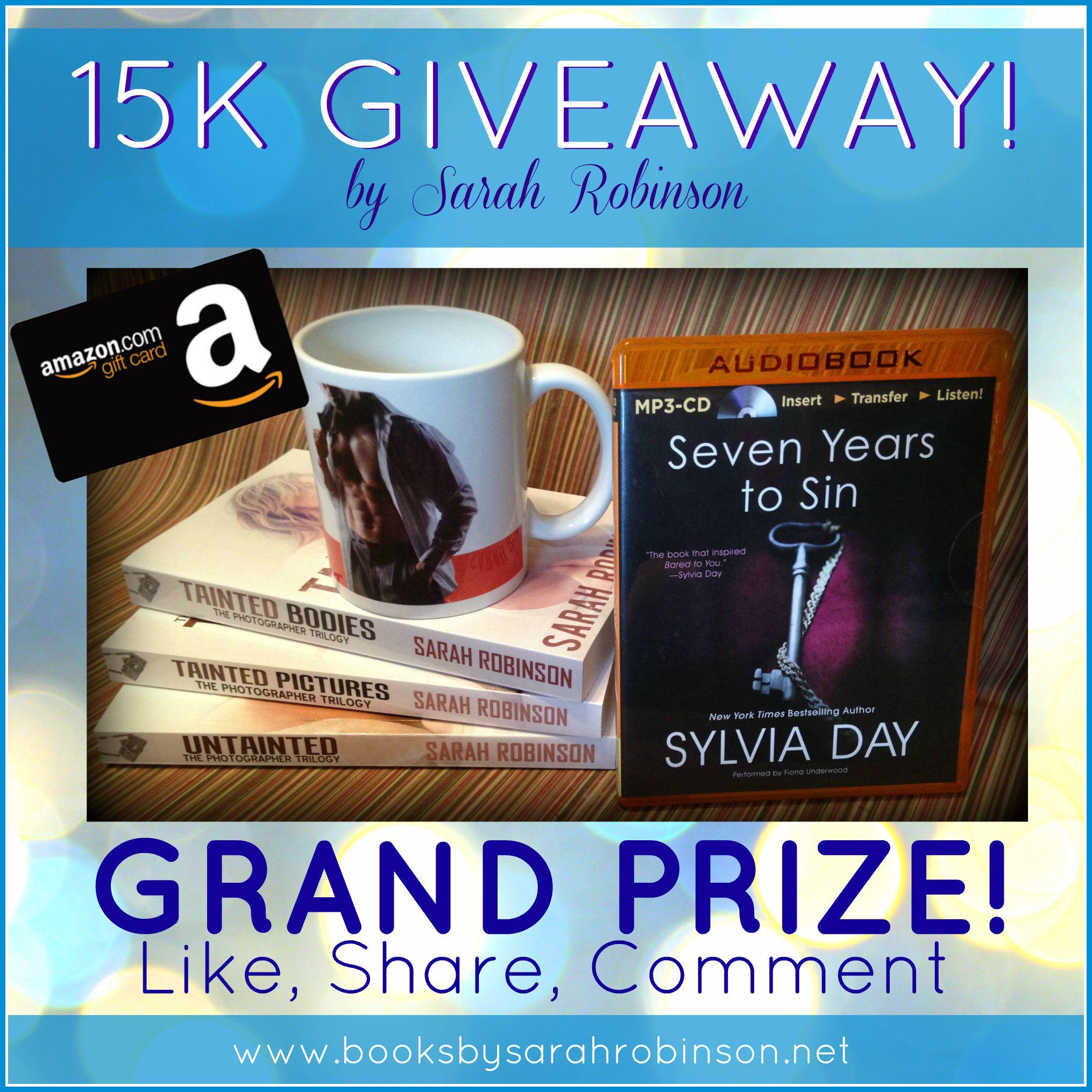15K & Giveaways! Winner, Winner, Chicken Dinner… okay no chicken, but winners!