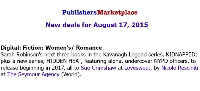Book deal books by sarah robinson 11 books sold to random house what in the world fandeluxe Image collections